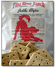 Flint River Ranch Jubilee Wafer Biscuits for Dogs - Click to Enlarge