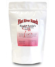 Flint River Ranch Tender Lovin's Smoked Chicken Jerky Treats - Click to Enlarge