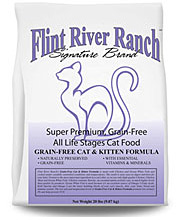 Flint River Ranch No-Grain and Grain Free Cat Food Product Line