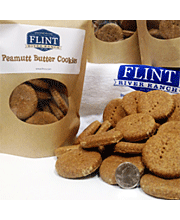 Flint River Ranch Peanut Butter Dog Cookie Treats - Click to Enlarge