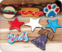 Flint River Ranch Patriotic Dog Cookie Treats