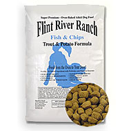 Flint River Ranch Fish Chips Ultra Premium Dog Food