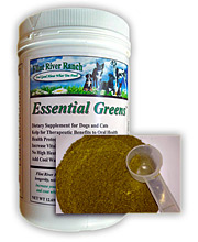 Flint River Ranch Essential Greens Pet Food Supplement  - Click to Enlarge